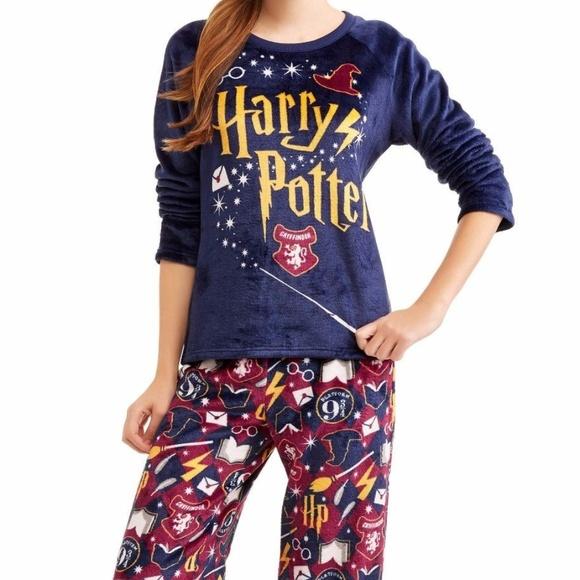 Ladies Loungewear Women/'s Harry Potter Hedwig Acceptance Letter Pyjama Set